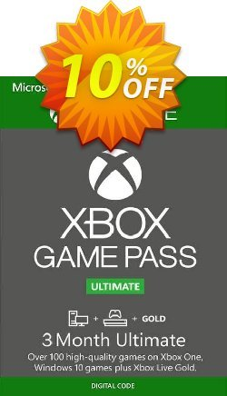 3 Month Xbox Game Pass Ultimate Trial Xbox One / PC Coupon discount 3 Month Xbox Game Pass Ultimate Trial Xbox One / PC Deal - 3 Month Xbox Game Pass Ultimate Trial Xbox One / PC Exclusive offer for iVoicesoft
