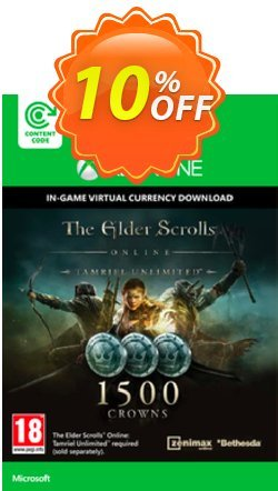 The Elder Scrolls Online Tamriel Unlimited 1500 Crowns Xbox One - Digital Code Coupon discount The Elder Scrolls Online Tamriel Unlimited 1500 Crowns Xbox One - Digital Code Deal - The Elder Scrolls Online Tamriel Unlimited 1500 Crowns Xbox One - Digital Code Exclusive offer for iVoicesoft
