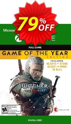 The Witcher 3 Wild Hunt - Game of the Year Edition Xbox One Coupon discount The Witcher 3 Wild Hunt - Game of the Year Edition Xbox One Deal - The Witcher 3 Wild Hunt - Game of the Year Edition Xbox One Exclusive offer for iVoicesoft