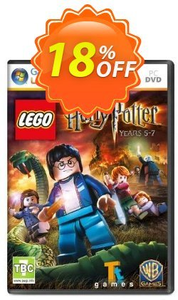 Lego Harry Potter Years 5-7 - PC  Coupon discount Lego Harry Potter Years 5-7 (PC) Deal - Lego Harry Potter Years 5-7 (PC) Exclusive offer for iVoicesoft