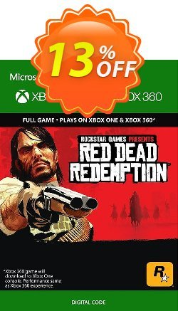 Red Dead Redemption Xbox 360/Xbox One Coupon discount Red Dead Redemption Xbox 360/Xbox One Deal - Red Dead Redemption Xbox 360/Xbox One Exclusive offer for iVoicesoft