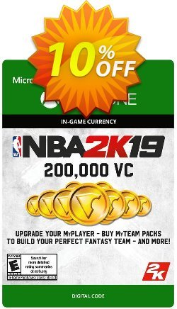 NBA 2K19: 200,000 VC Xbox One Coupon discount NBA 2K19: 200,000 VC Xbox One Deal - NBA 2K19: 200,000 VC Xbox One Exclusive offer for iVoicesoft