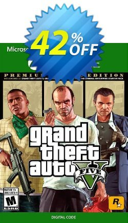 Grand Theft Auto V 5: Premium Online Edition Xbox One Coupon discount Grand Theft Auto V 5: Premium Online Edition Xbox One Deal - Grand Theft Auto V 5: Premium Online Edition Xbox One Exclusive offer for iVoicesoft