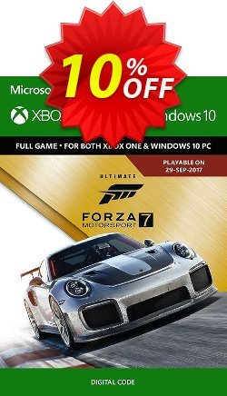 Forza Motorsport 7 Ultimate Edition Xbox One/PC Coupon discount Forza Motorsport 7 Ultimate Edition Xbox One/PC Deal - Forza Motorsport 7 Ultimate Edition Xbox One/PC Exclusive offer for iVoicesoft
