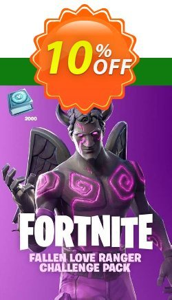 Fortnite - Fallen Love Ranger Challenge Pack + 2000 V-Bucks Xbox One Coupon discount Fortnite - Fallen Love Ranger Challenge Pack + 2000 V-Bucks Xbox One Deal - Fortnite - Fallen Love Ranger Challenge Pack + 2000 V-Bucks Xbox One Exclusive offer for iVoicesoft