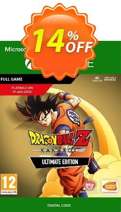 Dragon Ball Z: Kakarot Ultimate Edition Xbox One Coupon discount Dragon Ball Z: Kakarot Ultimate Edition Xbox One Deal - Dragon Ball Z: Kakarot Ultimate Edition Xbox One Exclusive offer for iVoicesoft