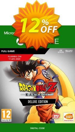 Dragon Ball Z: Kakarot Deluxe Edition Xbox One Coupon discount Dragon Ball Z: Kakarot Deluxe Edition Xbox One Deal - Dragon Ball Z: Kakarot Deluxe Edition Xbox One Exclusive offer for iVoicesoft