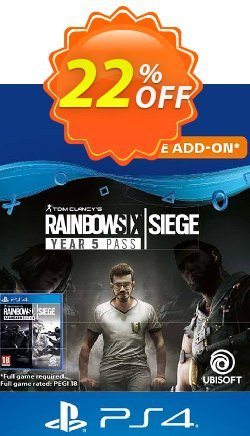 Tom Clancy's Rainbow Six Siege - Year 5 Pass PS4 - UK  Coupon discount Tom Clancy's Rainbow Six Siege - Year 5 Pass PS4 (UK) Deal - Tom Clancy's Rainbow Six Siege - Year 5 Pass PS4 (UK) Exclusive offer for iVoicesoft