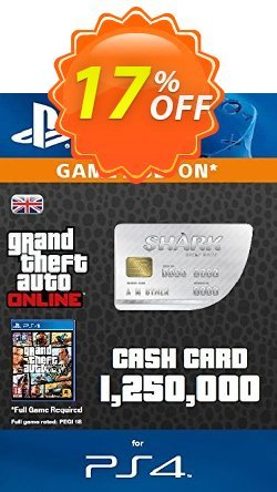 Grand Theft Auto Online - GTA V 5 : Great White Shark Cash Card PS4 Coupon discount Grand Theft Auto Online (GTA V 5): Great White Shark Cash Card PS4 Deal - Grand Theft Auto Online (GTA V 5): Great White Shark Cash Card PS4 Exclusive offer for iVoicesoft