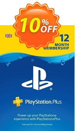 PlayStation Plus - 12 Month Subscription - UK  Coupon discount PlayStation Plus - 12 Month Subscription (UK) Deal - PlayStation Plus - 12 Month Subscription (UK) Exclusive offer for iVoicesoft