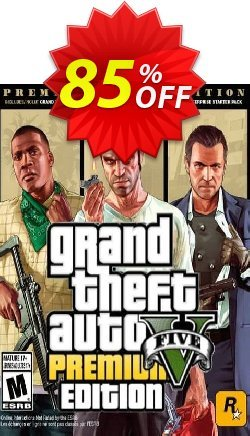 Grand Theft Auto V 5 - GTA 5 : Premium Online Edition PC Coupon discount Grand Theft Auto V 5 (GTA 5): Premium Online Edition PC Deal - Grand Theft Auto V 5 (GTA 5): Premium Online Edition PC Exclusive offer for iVoicesoft