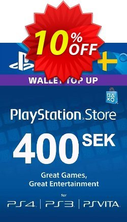 Playstation Network - PSN Card 400 SEK - Sweden  Coupon discount Playstation Network (PSN) Card 400 SEK (Sweden) Deal - Playstation Network (PSN) Card 400 SEK (Sweden) Exclusive offer for iVoicesoft