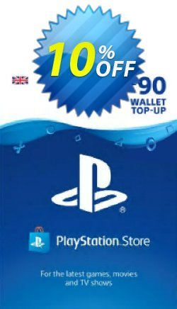 Playstation Network - PSN Card - £90 - UK  Coupon discount Playstation Network (PSN) Card - £90 (UK) Deal - Playstation Network (PSN) Card - £90 (UK) Exclusive offer for iVoicesoft