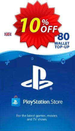 Playstation Network - PSN Card - £80 - UK  Coupon discount Playstation Network (PSN) Card - £80 (UK) Deal - Playstation Network (PSN) Card - £80 (UK) Exclusive offer for iVoicesoft