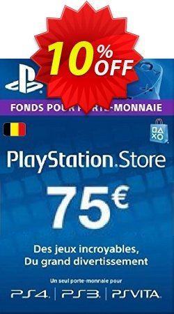 PlayStation Network - PSN Card - 75 EUR - Belgium  Coupon discount PlayStation Network (PSN) Card - 75 EUR (Belgium) Deal - PlayStation Network (PSN) Card - 75 EUR (Belgium) Exclusive offer for iVoicesoft