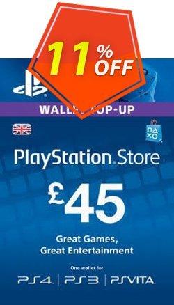 Playstation Network - PSN Card - 45 GBP Coupon discount Playstation Network (PSN) Card - 45 GBP Deal - Playstation Network (PSN) Card - 45 GBP Exclusive offer for iVoicesoft