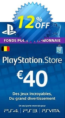 PlayStation Network - PSN Card - 40 EUR - Belgium  Coupon discount PlayStation Network (PSN) Card - 40 EUR (Belgium) Deal - PlayStation Network (PSN) Card - 40 EUR (Belgium) Exclusive offer for iVoicesoft