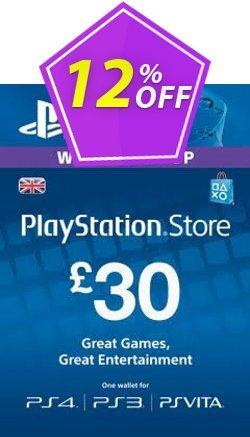 Playstation Network - PSN Card - 30 GBP Coupon discount Playstation Network (PSN) Card - 30 GBP Deal - Playstation Network (PSN) Card - 30 GBP Exclusive offer for iVoicesoft