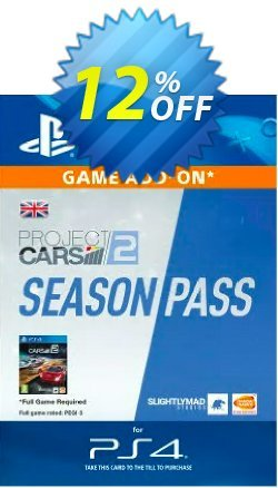 Project CARS 2 Season Pass PS4 Coupon discount Project CARS 2 Season Pass PS4 Deal - Project CARS 2 Season Pass PS4 Exclusive offer for iVoicesoft