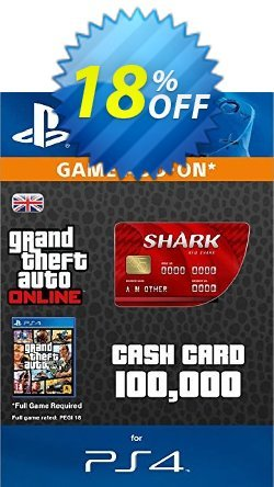 Grand Theft Auto Online - GTA V 5 Red Shark Cash Card PS4 Coupon discount Grand Theft Auto Online (GTA V 5) Red Shark Cash Card PS4 Deal - Grand Theft Auto Online (GTA V 5) Red Shark Cash Card PS4 Exclusive offer for iVoicesoft