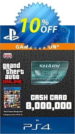 Grand Theft Auto Online - GTA V 5 : Megalodon Shark Cash Card PS4 Coupon discount Grand Theft Auto Online (GTA V 5): Megalodon Shark Cash Card PS4 Deal - Grand Theft Auto Online (GTA V 5): Megalodon Shark Cash Card PS4 Exclusive offer for iVoicesoft