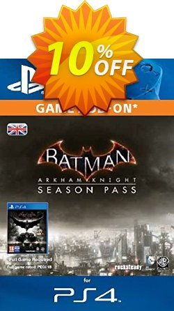 Batman: Arkham Knight Season Pass PS4 Coupon discount Batman: Arkham Knight Season Pass PS4 Deal - Batman: Arkham Knight Season Pass PS4 Exclusive offer for iVoicesoft