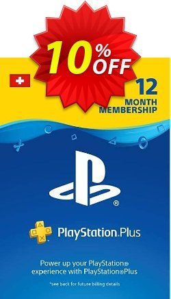 PlayStation Plus - PS+ - 12 Month Subscription - Switzerland  Coupon discount PlayStation Plus (PS+) - 12 Month Subscription (Switzerland) Deal - PlayStation Plus (PS+) - 12 Month Subscription (Switzerland) Exclusive offer for iVoicesoft
