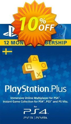 Playstation Plus - 12 Month Subscription - Sweden  Coupon discount Playstation Plus - 12 Month Subscription (Sweden) Deal - Playstation Plus - 12 Month Subscription (Sweden) Exclusive offer for iVoicesoft