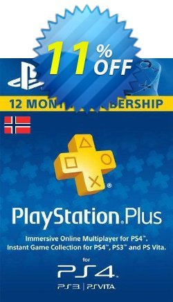 Playstation Plus - 12 Month Subscription - Norway  Coupon discount Playstation Plus - 12 Month Subscription (Norway) Deal - Playstation Plus - 12 Month Subscription (Norway) Exclusive offer for iVoicesoft