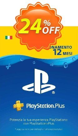 PlayStation Plus - PS+ - 12 Month Subscription - Italy  Coupon discount PlayStation Plus (PS+) - 12 Month Subscription (Italy) Deal - PlayStation Plus (PS+) - 12 Month Subscription (Italy) Exclusive offer for iVoicesoft