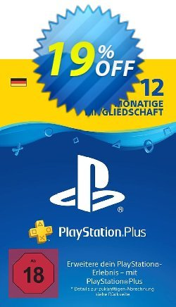 PlayStation Plus - PS+ - 12 Month Subscription - Germany  Coupon discount PlayStation Plus (PS+) - 12 Month Subscription (Germany) Deal - PlayStation Plus (PS+) - 12 Month Subscription (Germany) Exclusive offer for iVoicesoft