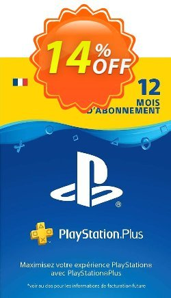 PlayStation Plus - PS+ - 12 Month Subscription - France  Coupon discount PlayStation Plus (PS+) - 12 Month Subscription (France) Deal - PlayStation Plus (PS+) - 12 Month Subscription (France) Exclusive offer for iVoicesoft