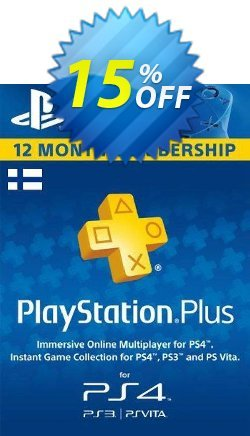 Playstation Plus - 12 Month Subscription - Finland  Coupon discount Playstation Plus - 12 Month Subscription (Finland) Deal - Playstation Plus - 12 Month Subscription (Finland) Exclusive offer for iVoicesoft