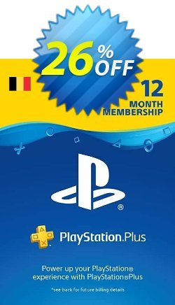 Playstation Plus - PS+ - 12 Month Subscription - Belgium  Coupon discount Playstation Plus (PS+) - 12 Month Subscription (Belgium) Deal - Playstation Plus (PS+) - 12 Month Subscription (Belgium) Exclusive offer for iVoicesoft