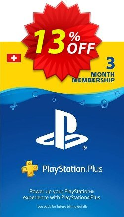 PlayStation Plus - PS+ - 3 Month Subscription - Switzerland  Coupon discount PlayStation Plus (PS+) - 3 Month Subscription (Switzerland) Deal - PlayStation Plus (PS+) - 3 Month Subscription (Switzerland) Exclusive offer for iVoicesoft