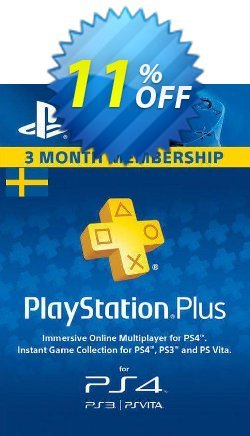 Playstation Plus - 3 Month Subscription - Sweden  Coupon discount Playstation Plus - 3 Month Subscription (Sweden) Deal - Playstation Plus - 3 Month Subscription (Sweden) Exclusive offer for iVoicesoft