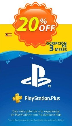 PlayStation Plus - PS+ - 3 Month Subscription - Spain  Coupon discount PlayStation Plus (PS+) - 3 Month Subscription (Spain) Deal - PlayStation Plus (PS+) - 3 Month Subscription (Spain) Exclusive offer for iVoicesoft