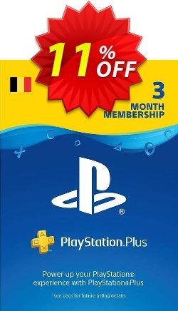 Playstation Plus - PS+ - 3 Month Subscription - Belgium  Coupon discount Playstation Plus (PS+) - 3 Month Subscription (Belgium) Deal - Playstation Plus (PS+) - 3 Month Subscription (Belgium) Exclusive offer for iVoicesoft