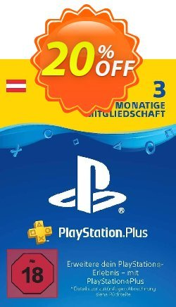 PlayStation Plus - PS+ - 3 Month Subscription - Austria  Coupon discount PlayStation Plus (PS+) - 3 Month Subscription (Austria) Deal - PlayStation Plus (PS+) - 3 Month Subscription (Austria) Exclusive offer for iVoicesoft