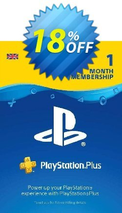 PlayStation Plus - PS+ - 1 Month Subscription - UK  Coupon discount PlayStation Plus (PS+) - 1 Month Subscription (UK) Deal - PlayStation Plus (PS+) - 1 Month Subscription (UK) Exclusive offer for iVoicesoft