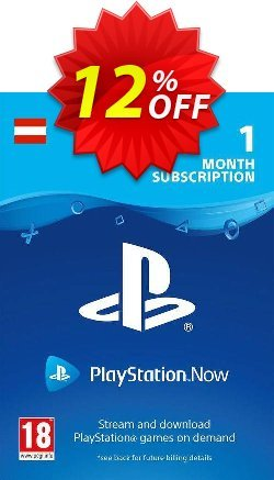 PlayStation Now 1 Month Subscription - Austria  Coupon discount PlayStation Now 1 Month Subscription (Austria) Deal - PlayStation Now 1 Month Subscription (Austria) Exclusive offer for iVoicesoft