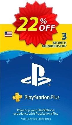 3 Month Playstation Plus Membership - PS+ - PS3/ PS4/ PS Vita Digital Code - USA  Coupon discount 3 Month Playstation Plus Membership (PS+) - PS3/ PS4/ PS Vita Digital Code (USA) Deal - 3 Month Playstation Plus Membership (PS+) - PS3/ PS4/ PS Vita Digital Code (USA) Exclusive offer for iVoicesoft