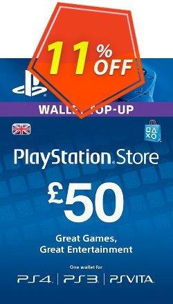Playstation Network - PSN Card - £50 - UK  Coupon discount Playstation Network (PSN) Card - £50 (UK) Deal - Playstation Network (PSN) Card - £50 (UK) Exclusive offer for iVoicesoft