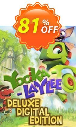 Yooka-Laylee Digital Deluxe Edition PC Coupon discount Yooka-Laylee Digital Deluxe Edition PC Deal. Promotion: Yooka-Laylee Digital Deluxe Edition PC Exclusive offer for iVoicesoft