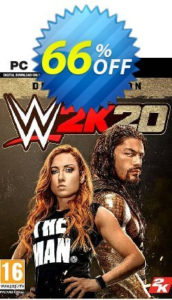 WWE 2K20 PC Deluxe Edition - EU  Coupon discount WWE 2K20 PC Deluxe Edition (EU) Deal - WWE 2K20 PC Deluxe Edition (EU) Exclusive offer for iVoicesoft