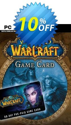 World of Warcraft 30 Day Pre-Paid Game Card PC/Mac Coupon discount World of Warcraft 30 Day Pre-Paid Game Card PC/Mac Deal - World of Warcraft 30 Day Pre-Paid Game Card PC/Mac Exclusive offer for iVoicesoft