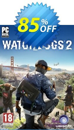 Watch Dogs 2 PC Coupon discount Watch Dogs 2 PC Deal - Watch Dogs 2 PC Exclusive offer for iVoicesoft