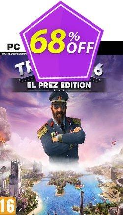 Tropico 6 El Prez Edition - EU  Coupon discount Tropico 6 El Prez Edition (EU) Deal - Tropico 6 El Prez Edition (EU) Exclusive offer for iVoicesoft