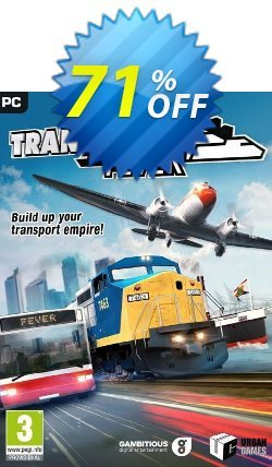 Transport Fever PC Coupon discount Transport Fever PC Deal - Transport Fever PC Exclusive offer for iVoicesoft
