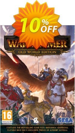 Total War Warhammer - Old World Edition PC Coupon discount Total War Warhammer - Old World Edition PC Deal. Promotion: Total War Warhammer - Old World Edition PC Exclusive offer for iVoicesoft
